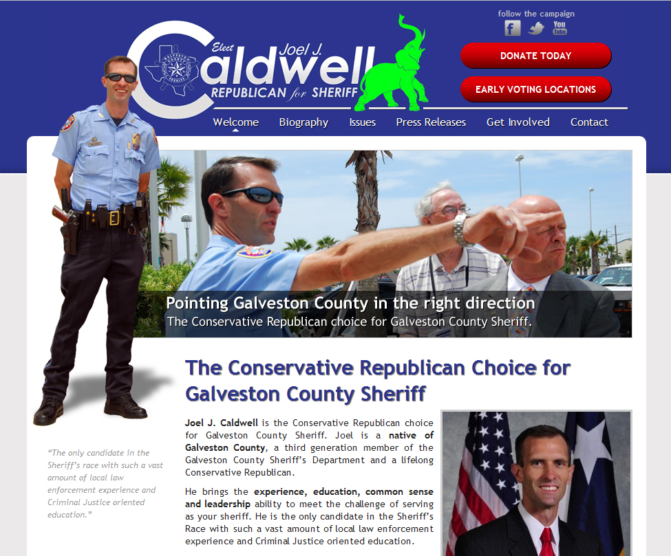 Joel Caldwell for Sheriff