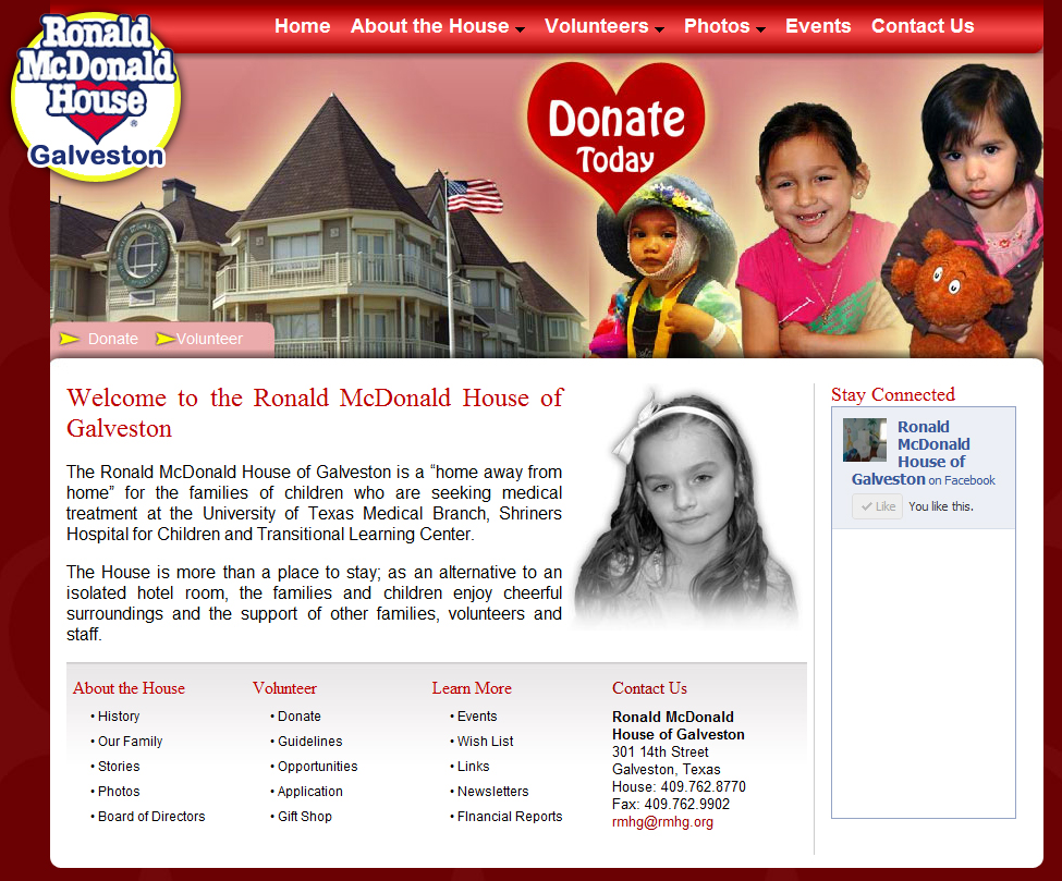 Ronald McDonald House of Galveston