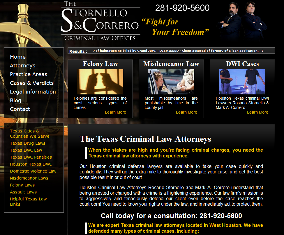 Stornello & Correro Law Offices