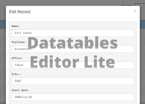 datatables-editor-lite-wp