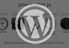 jClocksGMT.js for WordPress